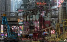 Quite a while ago I had the great (albeit short, because I had to hop on another job) pleasure of creating a few pieces of concept art for Ghost In The Shell while freelancing for MPC.  I remember buying the original anime back in 1998 when I was like 14, and while I certainly didn't quite have the mental maturity to fully understand what I was watching at that age, it nonetheless had a very profound effect on me and really kick-started my love for all things Sci-fi, cyborgs and Japanese ...