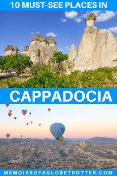 Discover fairy chimneys, cave churches, hikes and incredible landscapes in Cappadocia, Turkey!
