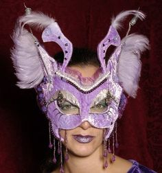 Lavender Fairy Mask  Source: Stylehive