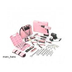 18V New Pink Drill Ladies Power Screwdriver Nail It 4 in 1 Set Little Pink Tools #LittlePinkTools