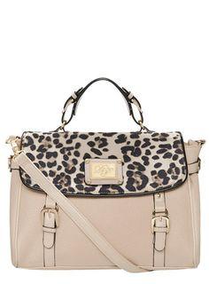 Blush leopard satchel - Bags & Purses  - Accessories