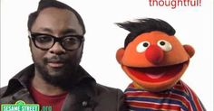 Will.i.am sings 'What I Am' on Sesame Street (video with words). Great for transitions. | Videos | Pinterest | Sesame Streets, I Am and Street