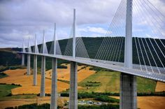 15 World's Most Impressive Bridges That Will Leave You Speechless.. 2. The Millau Viaduct @ South of France
