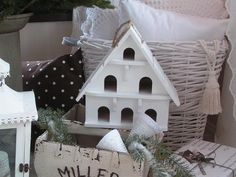 . Little Houses, Beautiful Christmas, Winter Christmas, Wonderful Time, Winter Wonderland, Shabby Chic, Trees, Live, Decoration