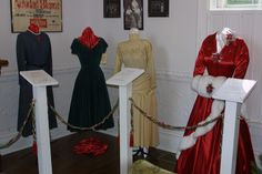 """Edith Head designed costumes worn in """"White Christmas"""" by Mary Wickes, Rosemary Clooney and Vera Ellen"""