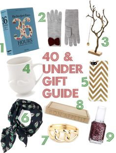 $40 & Under Gift Guide