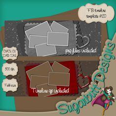 Scrapbooking TammyTags -- TT- Designer - Sugarbutt Designs, TT- Item - Facebook Timeline Cover, TT - Element - Heart