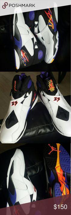 """NEW!!! NIKE AIR JORDAN RETRO 8 """"THREEPEAT"""", SZ 16 BRAND NEW.. JORDAN RETRO 8 """"THREEPEAT"""", NEVER WORN,  GREAT DEAL!!!!  Never Worn!! Jordan Shoes Sneakers"""