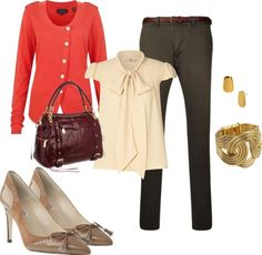 """""""business office outfit"""" by dscmoff on Polyvore"""