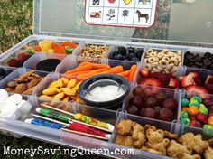 3 Easy Ways to Pack Snacks on Road Trips  or Camping trips & Save Money!