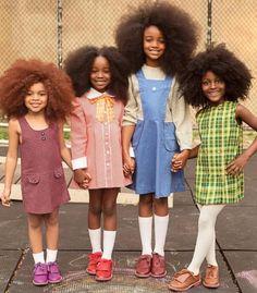 Kid's Hair Care: Tips For Healthy Natural Hair. Black Kids, Black Girls Rock, Black Girl Magic, Black Little Girls, Beautiful Black Babies, Beautiful Children, Simply Beautiful, Urban Outfit, Moda Afro