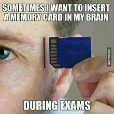 If only we could do this in exams.