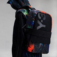 Utilitarian shape meets elegant design  the Y-3 Qasa Backpack. Available  online at 17d8ca81b7