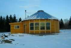 30' yurt with additions