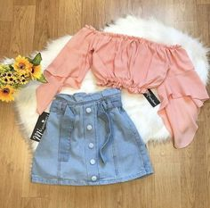 Entry Content Try 2 Teenage Girl Outfits, Cute Girl Outfits, Casual Summer Outfits, Outfits For Teens, Pretty Outfits, Stylish Outfits, Cool Outfits, Girls Fashion Clothes, Teen Fashion Outfits