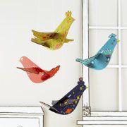 You know what they say, Decor of a feather flock together. Keep that timeless adage alive by adorning any room in your home with these colorful and...