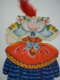 Vintage-Hallmark-Land-of-Make-Believe-Doll-Card-My-Pretty-Maid-Excellent