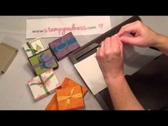 by Kerry Willard Bray One Piece of Card Stock = 2 Boxes