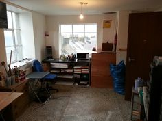 Lookout studio. Desk, Studio, Furniture, Home Decor, Writing Table, Homemade Home Decor, Desktop, Studios, Home Furnishings