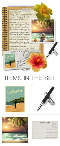 """""""My Beach Journal VII, The Beginning Of World War II...😯by tt"""" by fowlerteetee ❤ liked on Polyvore featuring art"""