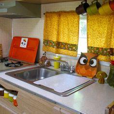 Funky Mushroom's kitchen.