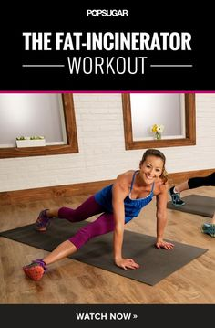 Work your entire body and torch that fat with this 10-minute workout video.