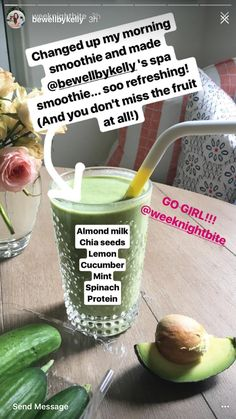 Bewellbykelly spa smoothie