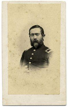 Union Cavalryman in Vignette