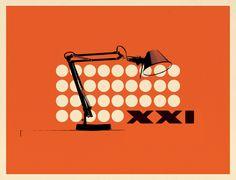 Illustration for Design Week's article Enlightened thinking (April 2011) on Fotolito