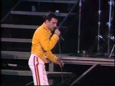 Freddie Mercury, a classic peformance, Under Pressure