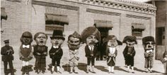 Gigantes y cabezudos 1934