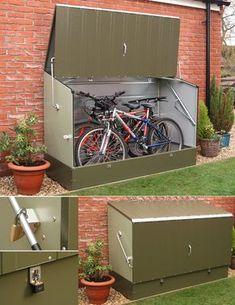 Hummm...isso aí é o que preciso pra deixar as bikes do lado de fora do apto! hehe!