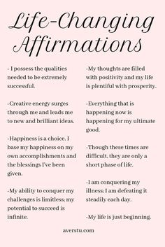 Practicing positive self-affirmations is a wonderful way to start your day. They can help you set the tone for how you want your experience to be, and aid you in establishing your intention for the da Positive Affirmations Quotes, Self Love Affirmations, Law Of Attraction Affirmations, Affirmation Quotes, Manifestation Law Of Attraction, Manifestation Journal, Law Of Attraction Quotes, Healthy Affirmations, Positive Mantras
