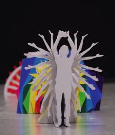 An amazing cut-out, stop-motion, color-exploding extravaganza → http://youtu.be/Q-WM-x__BOk