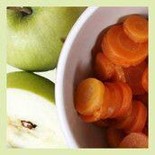 Przecier z marchewek i jabłek