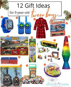 Great gift ideas for tween boys! Click through for 12 Gift Ideas for Tween Boys! 9 Year Old Christmas Gifts, Christmas On A Budget, Kids Christmas, Teen Boys, Old Boys, Girls, Presents For Boys, Gifts For Kids, Birthday Gifts For Boys