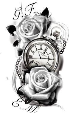 36 Ideas For Tattoo Compass Design Ideas Pocket Watches compass tattoo 36 Ideas For Tattoo Compass Design Ideas Pocket Watches Pocket Watch Tattoos, Pocket Watch Tattoo Design, Clock Tattoo Design, Pocket Watch Drawing, Tattoo Clock, Clover Tattoos, Rose Tattoos, Body Art Tattoos, Hand Tattoos