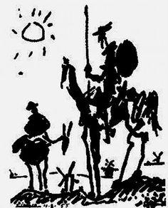 Don Quijote de la Mancha, Picasso