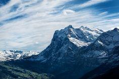 горы, пейзаж, природа