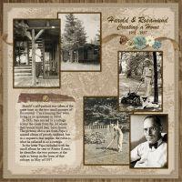 Harold & Rosamund Heritage Scrapbooking, Scrapbooking Layouts, Digital Scrapbooking, Scrapbook Designs, Genealogy, Black And White, Portrait, Gallery, Ancestry
