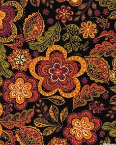 Russian Fall Floral (63 pieces)