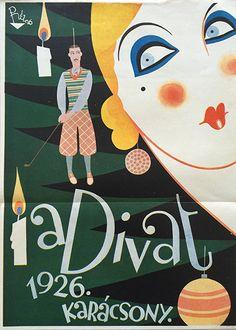 The Fashion. 1926. Christmas (Réz-Diamant, Tibor - 1926)