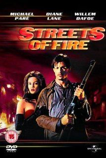 streets of fire dvd cover Top Movies, Great Movies, Movies And Tv Shows, Funny Movies, Robert Duvall, Hayden Christensen, Diane Lane, Richard Gere, Books