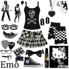 emo clothing style - Google Search