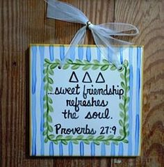 This can really be applicable to any sorority :)