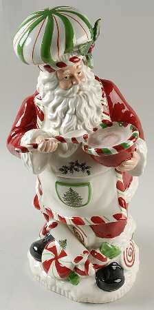 Spode China Santa Cookie Jar
