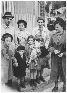 A group of passengers from the MS St. Louis arrive in France after the ship returned to Europe. 1939. The ship full of Jews, rejected by USA for immigration and sent back to Europe where passengers sent to death camps