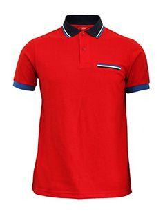 BCPOLO Men's Sportswear short sleeves Polo T-shirt Functional Golfwear-red XS BCPOLO http://www.amazon.com/dp/B00RV7C6S4/ref=cm_sw_r_pi_dp_6Fv7ub18Q0VVC