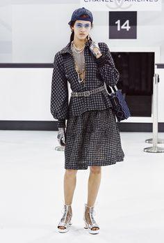 Look book Chanel printemps-été 2016 Look 8 - Look book Chanel printemps-été 2016 - Elle