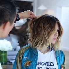 SHORT Cut/Style: Anh Co Tran • IG: @Anh Co Tran • Appointment inquiries please call Ramirez Tran Salon in Beverly Hills at 310.724.8167. #dreamhair #fantastichair #amazinghair #anhcotran #ramireztransalon #waves #besthair2016 #holidayhair #livedinhair #coolhaircuts #coolesthair #trendinghair #model #haircuts2016 #besthair #ramireztran #womenshaircut #hairgoals #hairtransformation #hairmoment #insalononly #lorealprous #glamteam #fun #tecniart